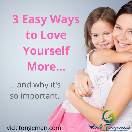 Three easy ways to love yourself more and why it's so important