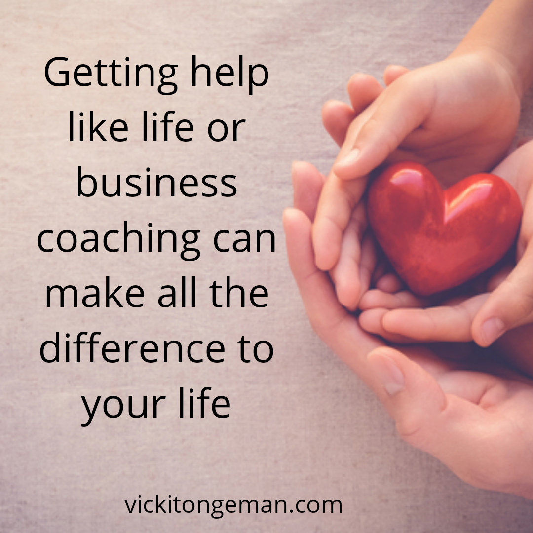 getting help like life or business coaching can make all the difference to your life