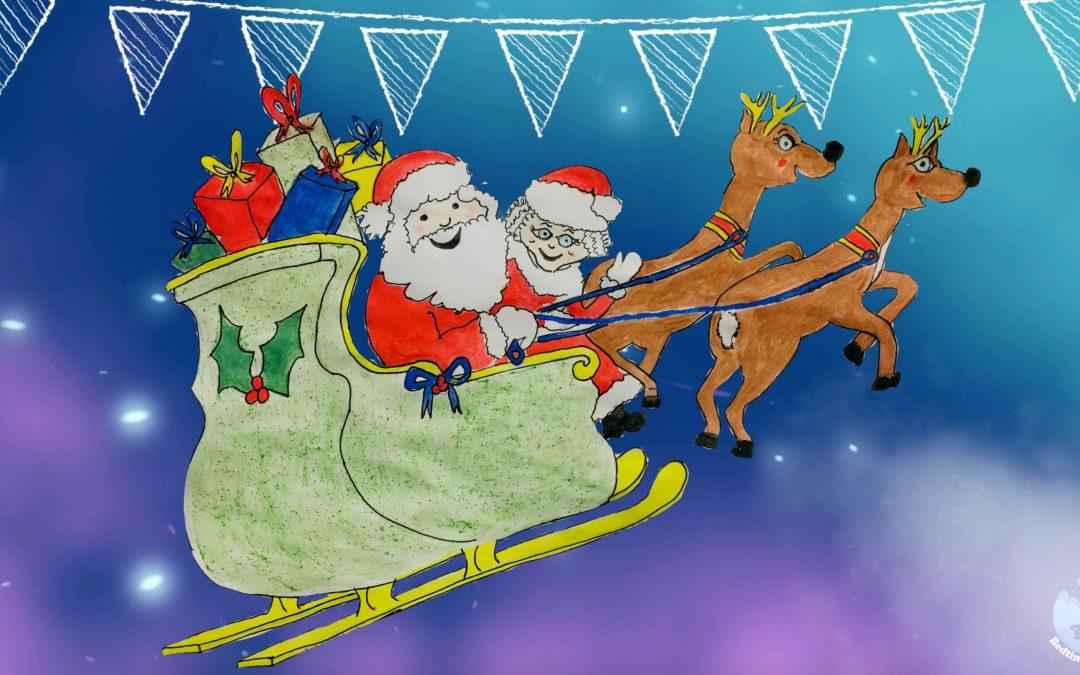 The Dancing Santa