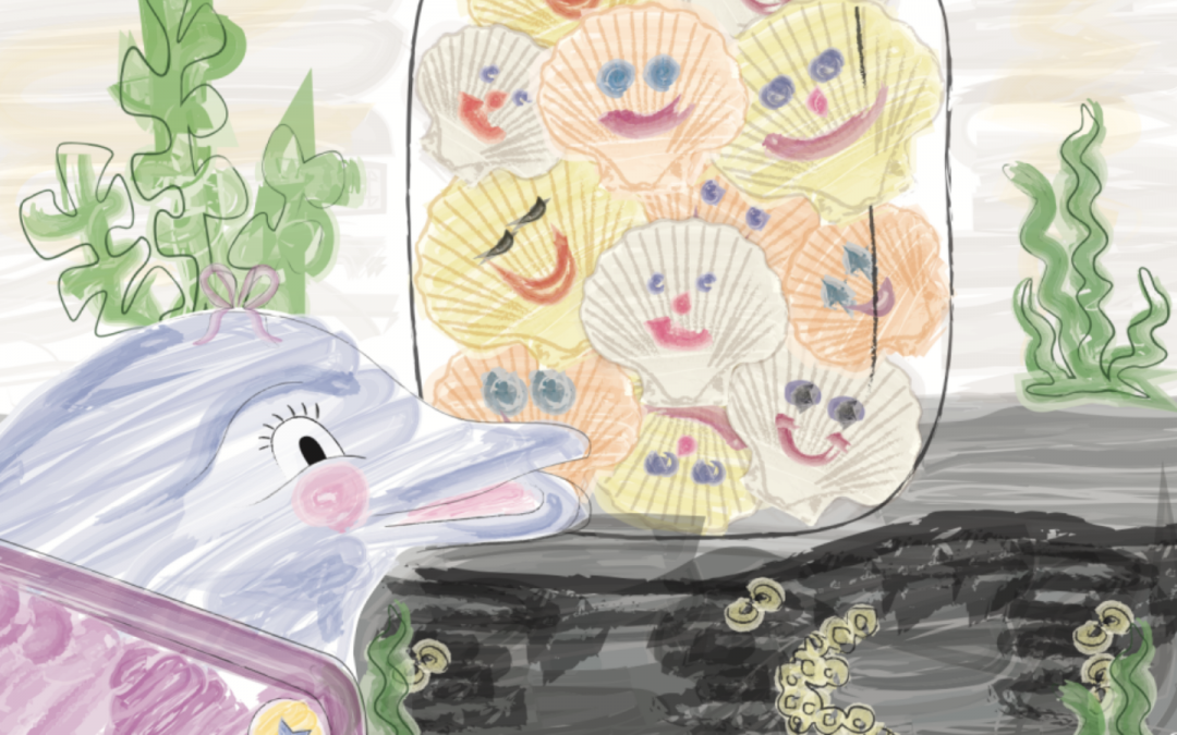 The Story Behind The Story – Daphne and the Smiley Shells