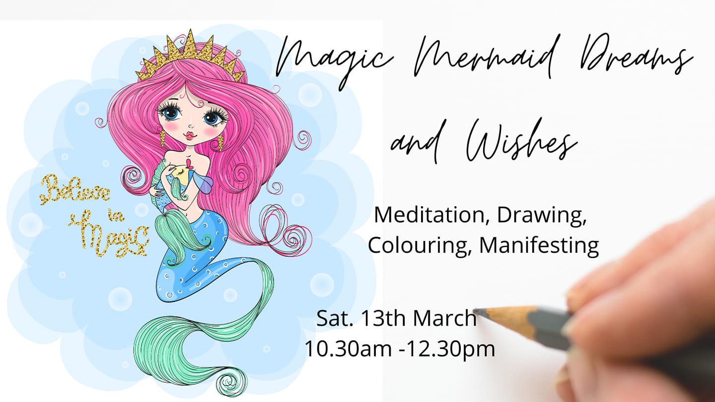 Magic Mermaid Dreams and Wishes - Vicki Tongeman