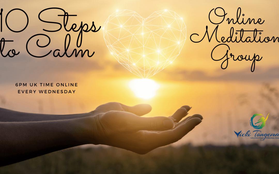 10 Steps to Calm with Vicki Tongeman