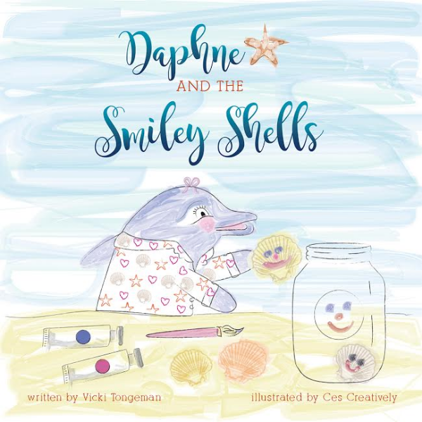 Daphne and the smiley shells book
